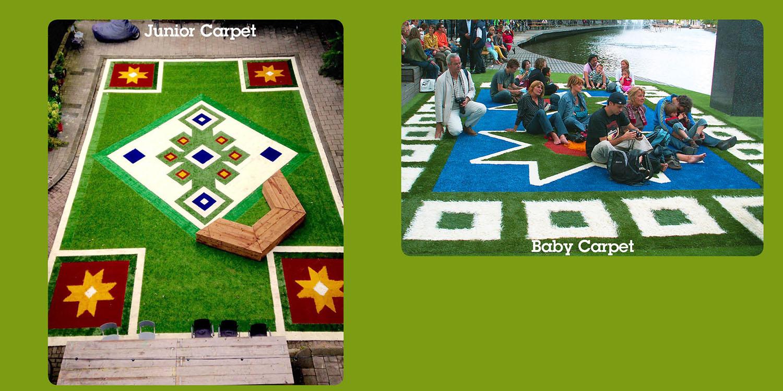 placemaking Flying Grass carpet