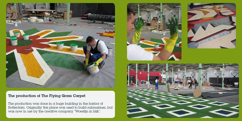 Flying Grass Carpet placemaking