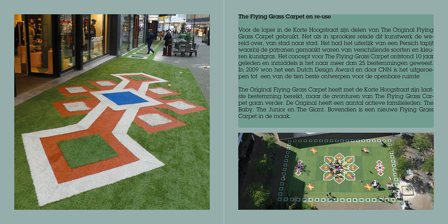 The Flying Grass Carpet Strip