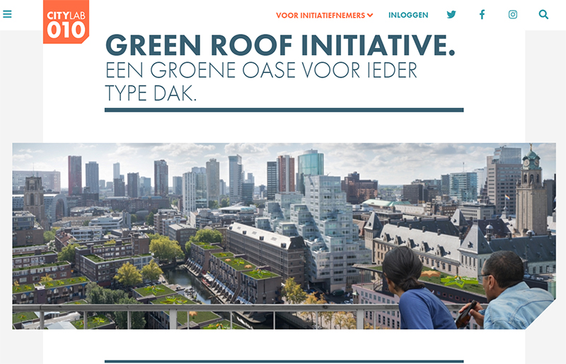Citylab Green Roof Initiative