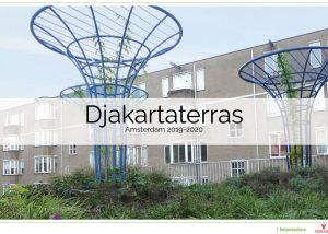 Djakartaterras herinrichting gezamenlijke binnentuin